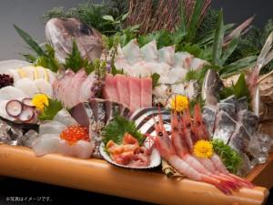 日本海庄や「刺盛全品半額」