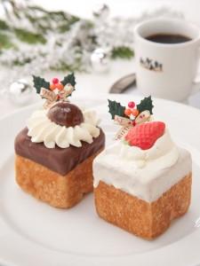 クリスマス版キューブ2種各550円(税込)