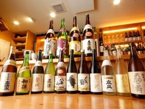 プレミアムな日本酒50種以上