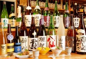 魅力的なプレミアムな日本酒がズラリ!