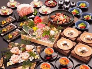 「超速鮮魚®」の刺身5種盛りも入る贅沢な宴会コース