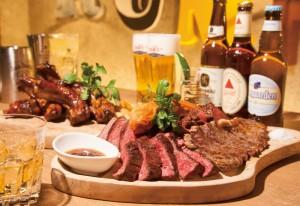 ドリンクメニューは「肉をより美味しく食べる」ために厳選した品揃え