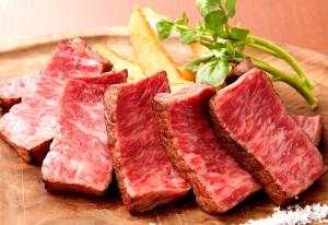 A5神戸牛赤身ステーキ」150g 2,900円(税別)