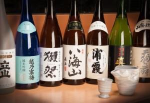 高級日本酒を惜しげもなく大放出!