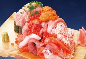 ぶっかけ寿司こぼれ盛