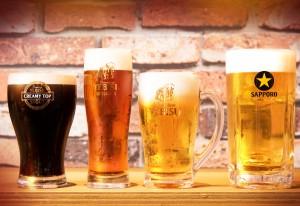 4つのプレミアムでお得な樽生ビール