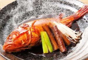 キンキの煮付け(1,280円税別)
