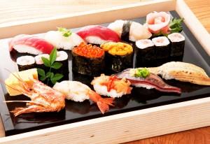 特上寿司盛合せ(1,880円税別)