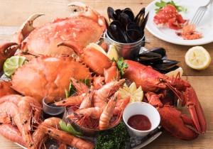 「本日のSHELL FISH」は日替わり入荷の贅沢な海老や蟹