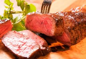 牛ステーキの王様「サーローン」ステーキ