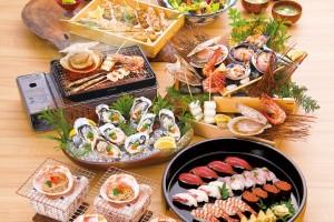 「魚河岸よくばりコース」5,000円